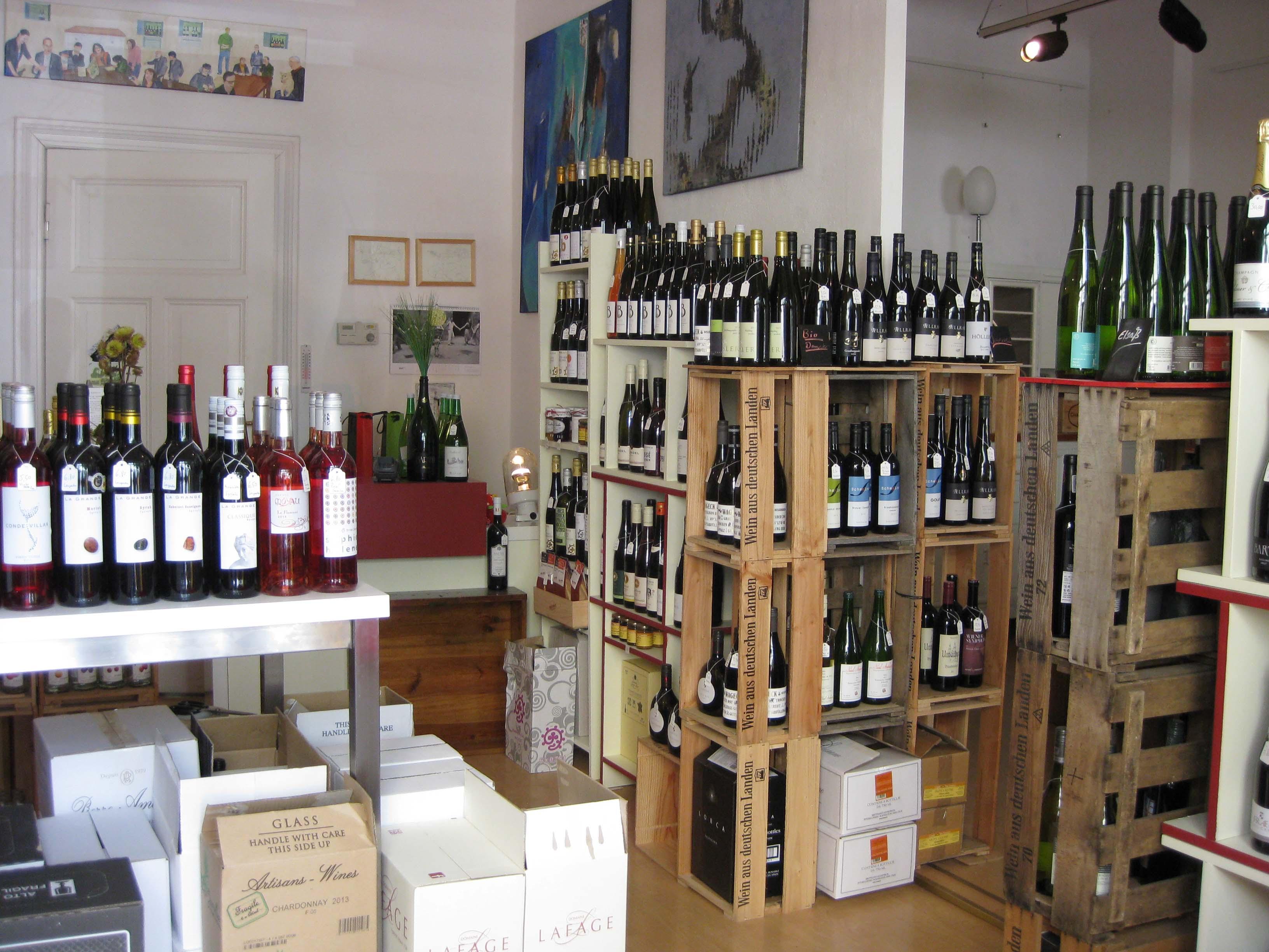 Teilinnenansicht der -Weingalerie-