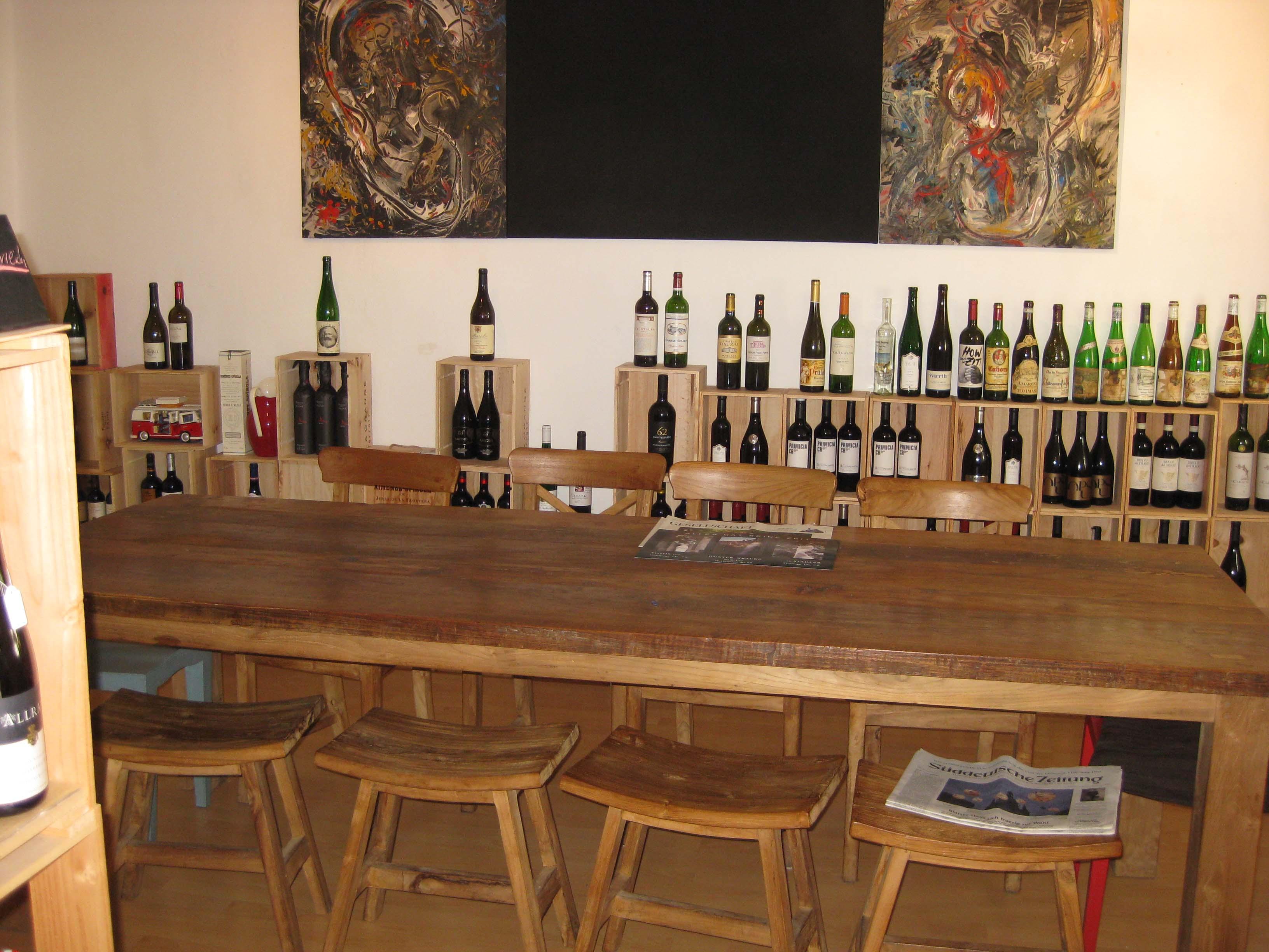 Verkostungsraum der -Weingalerie-